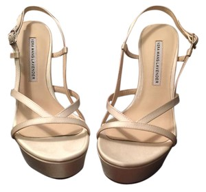 Vera Wang Bridal Wedding Platforms Ivory Formal