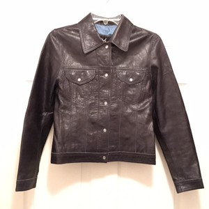 Maxima Leather Western Leather Biker Motorcycle Midnight Blue Leather Jacket
