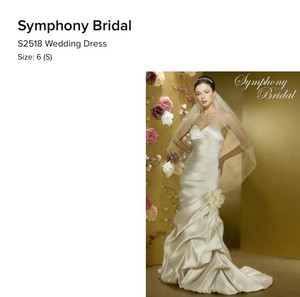 Symphony Bridal S2518 Wedding Dress