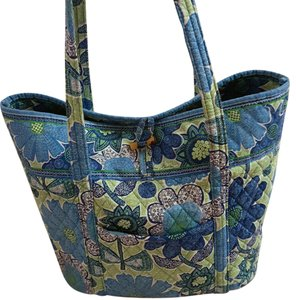 Vera Bradley Tote in Blue, Green