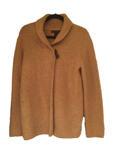 Elena Solano Toggle Button Cashmere Sweater Cardigan