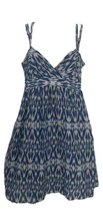 Ann Taylor LOFT short dress Print, Ikat Ikat Print Summer Flowy Light on Tradesy