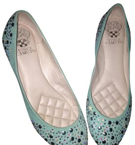 Vince Camuto teal Flats
