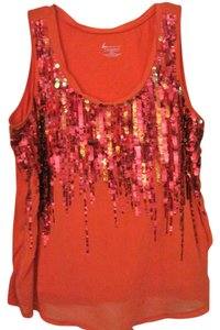Lane Bryant 18-20 Xxl Tank Top Orange