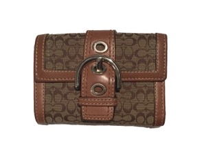 Coach C Signature Small Wallet