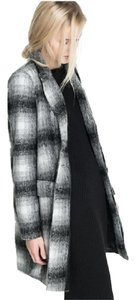 Zara Princess Plaid Coat