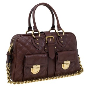 Marc Jacobs Venetia Benetia Chain Jacobs Mint Venetia Satchel in brown
