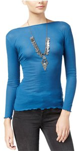 Free People Top Sapphire