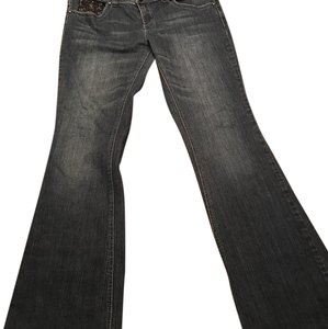 Guess Flare Leg Jeans-Medium Wash
