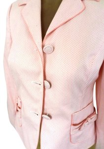 Ann Taylor LOFT Cream & peach Jacket