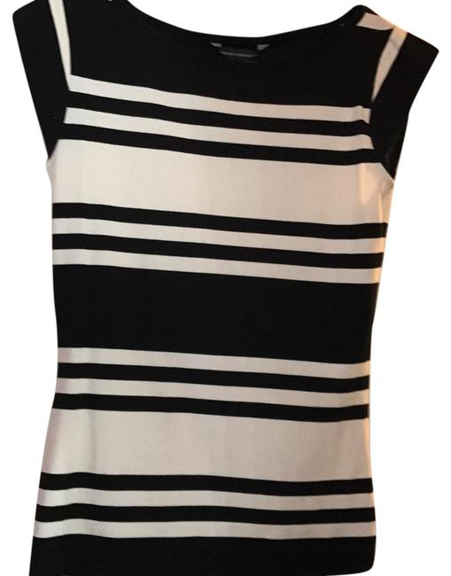 Preload https://item4.tradesy.com/images/french-connection-black-and-white-jag-stripe-cap-sleeve-tee-shirt-size-12-l-20473723-0-1.jpg?width=400&height=650