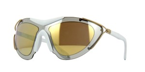 Givenchy New GV 7013/s White Goggle Sunglasses