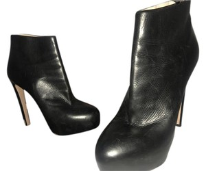 Prada Leather Black Michael Kors Dark Brown Boots