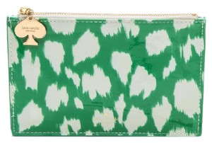 Kate Spade Painterly Cheetah Ikat Pencil Pouch & Accessories