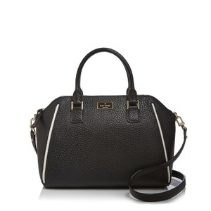 Kate Spade Satchel in black, white, gold
