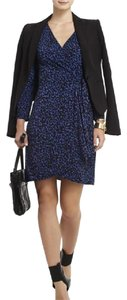 BCBGMAXAZRIA Adele Wrap Animal Print Wear To Work Date Night Leopard Dress