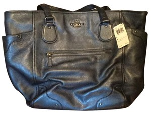 Coach Tote in Pearlzed denim