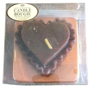 Other Chocolate Heart Candle