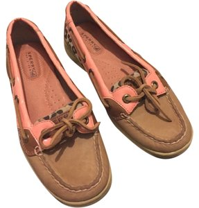 Sperry Pink/Tan Flats