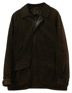 Rainforest Brown Leather Jacket
