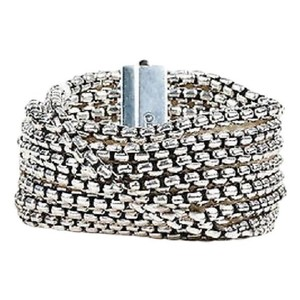David Yurman David Yurman sterling silver box chain 8 row bracelet