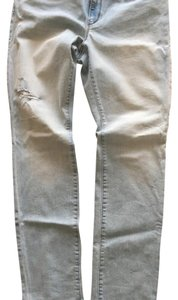 Ann Taylor LOFT Skinny Jeans-Light Wash