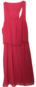 City Triangles short dress pink on Tradesy