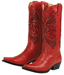 Lane Boots Red Boots