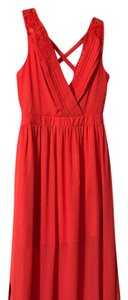 Coral Maxi Dress by Charming Charlie'