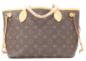 Louis Vuitton Neverfull Pm Monogram Tote Shoulder Bag