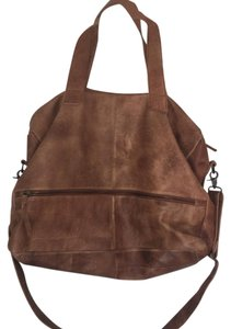 Cut n Paste from Sundance Leather Large Crossbody Carrying Strap brown Travel Bag