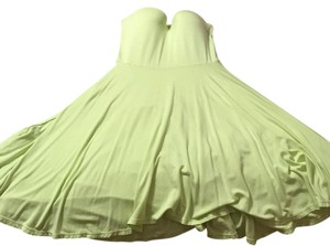 Victoria's Secret short dress Lime green on Tradesy