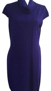 Andrew Marc short dress Purple on Tradesy