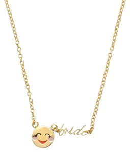 Kate Spade Kate Spade Tell All Bride Emoji Necklace