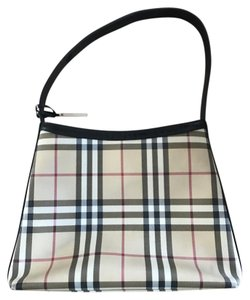 Burberry Checkered Tote in Multi, red, black, gold