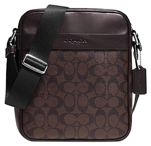 Coach Mens F54782 54782 F54782 MAHOGANY/BROWN Messenger Bag