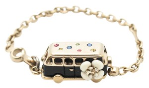 Chanel Bus CC charm gold hardware