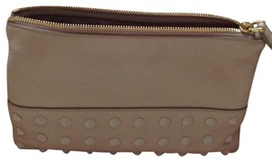 J.Crew Studded Leather Pouch