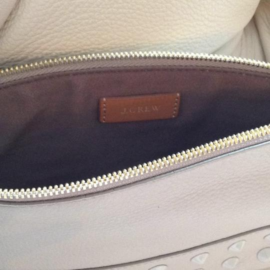 J.Crew Studded Leather Pouch Image 1