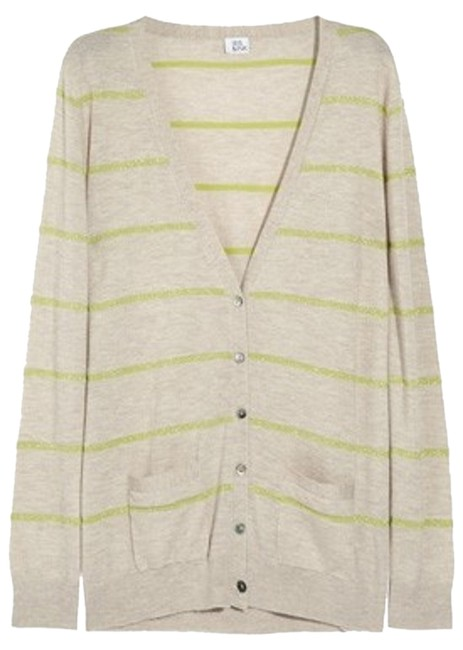 Preload https://item2.tradesy.com/images/iris-and-ink-beige-cashmere-boyfriend-l-sparkly-striped-cardigan-size-12-l-2047491-0-0.jpg?width=400&height=650