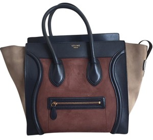 Cline Tote in Navy/Maroon