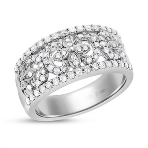 Other 0.50 Ct. Natural Diamond Fancy Everyday Cocktail Ring In Solid 14k