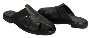 Aerosoles Size 8.00 M Very Little Wear Very Good Condition Black Mules