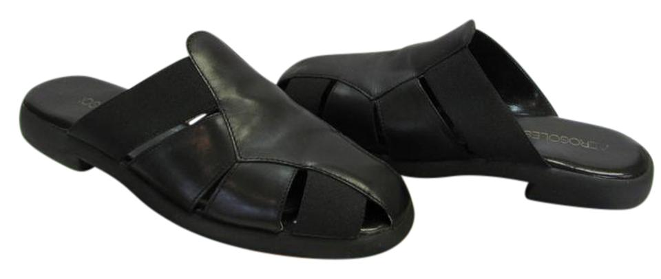 Aerosoles Black M Good Very Little Wear Very Good M Condition Mules/Slides 1481b9