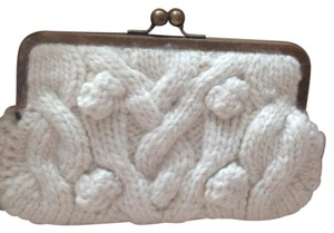 J.Crew Winter White Clutch