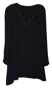 Smell the Roses short dress Black on Tradesy