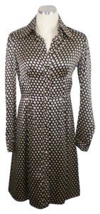 Nanette Lepore Silk Polka Dot Dress