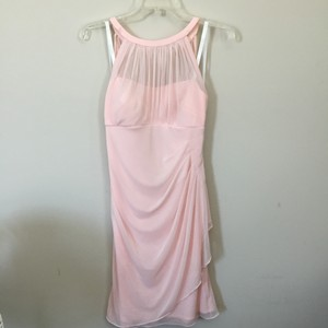 David's Bridal Petal Pink Petal Pink Bridesmaid Dress Dress