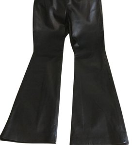 Moda International Boot Cut Pants Black