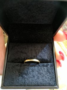Tiffany & Co. Tiffany & Co. Thin 18k Gold Women's Wedding Band